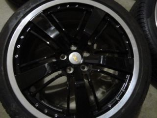 "2010 2012 Camaro SS Wheels Pirelli Tires Rims 21"" GM Staggered 9 5 8 5 New"