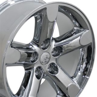 "20"" Chrome RAM 1500 Wheels Set of 4 20x9 Rims Fits Dodge Durango Dakota Aspen"