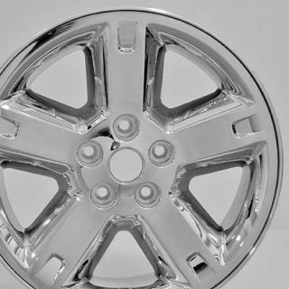 "17"" Nitro 2303B Wheels Chrome Set of 4 Rims Fit Dodge"