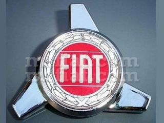 Fiat 500 Wheel Cap Spinners Set New