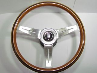 Nardi Classic Wood Steering Wheel MG Mini BMW AE86 Civic FJ40 Fiat VW Porsche GT
