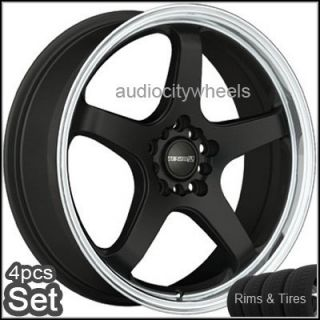 "18""Wheels Tires Tenzo Tracer Rims Lexus Audi Scion"