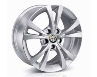 1 Alloy Wheels Center Caps Alfa Romeo Giulietta 159 Brera Spider Badge Genuine