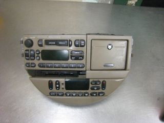 2000 Jaguar s Type Center Dash Radio and AC Control Unit Complete