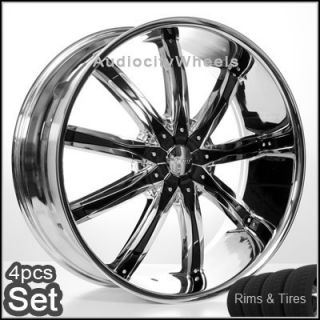 "24"" inch Wheels and Tires for Land Range Rover FX35 Rims"