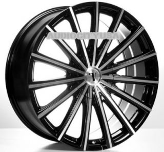 "22"" inch VC10 BM Wheels and Tires Rims for 300C Charger Magnum Challenger"