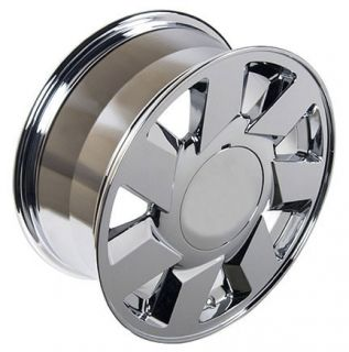 "17"" Rim Fits Cadillac DTS Wheel Chrome 17 x 7 5"