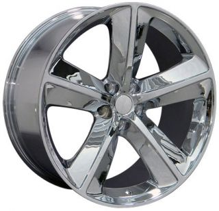 "20"" Chrome Challenger SRT Wheels 20x 9 Rim Fits Dodge"