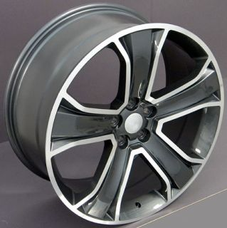 "22"" Gunmetal Range Rover Style Replica Wheel 22x9 5 Fits Land Rover"