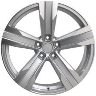 "20"" Silver Camaro ZL1 Wheels Machined Face 20x8 Fits Chevrolet Set of 4"