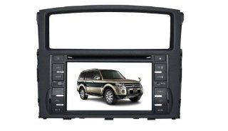 Eagle for 2007 2011 Mitsubishi Pajero Car GPS Navigation DVD Player Audio Video System with Radio (AM/FM),Bluetooth Hands Free,USB, AUX Input,(free Map),Plug & Play Installation GPS & Navigation