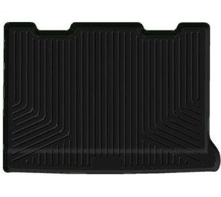 Husky WeatherBeater 2011 2013 Ford Explorer Rear Cargo Liner   Fits Behind 3rd Row Seats  BLACK  Automotive