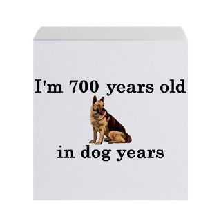 100 birthday dog years german shepherd 2 Sticky Notes by PARTYHUT