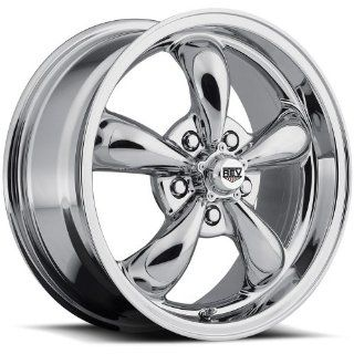 Rev Classic 100 17 Chrome Wheel / Rim 5x110 with a 35mm Offset and a 67 Hub Bore. Partnumber 100C 7751135 Automotive