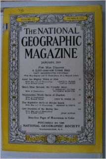 The National Geographic Magazine, Volume CV, Number One, January, 1954 (Volume CV, Number One) National Geographic Books