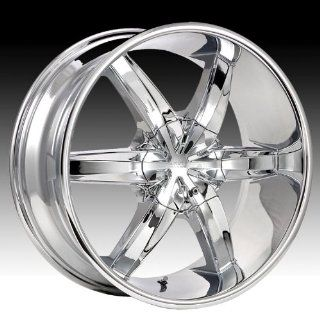 Cruiser Alloy Flash 17x7.5 Chrome Wheel / Rim 5x4.25 & 5x4.5 with a 42mm Offset and a 73.00 Hub Bore. Partnumber 909C 7751442 Automotive