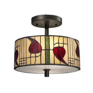 Dale Tiffany Macintosh Semi Flush, Ceiling Mounted Lamp