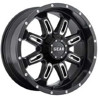 Gear Alloy Dominator 18x9 Black Wheel / Rim 6x135 & 6x5.5 with a 0mm Offset and a 108.00 Hub Bore. Partnumber 725MB 8906800 Automotive
