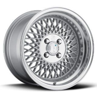 16 KLUTCH SL1 SILVER RIMS WHEELS 16x9 +17 5x114.3 Automotive
