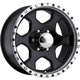 Ultra Rogue 18 Black Wheel / Rim 6x5.5 with a 10mm Offset and a 108 Hub Bore. Partnumber 175 8883B Automotive