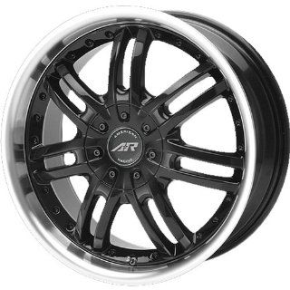 American Racing Haze 18x7.5 Black Wheel / Rim 4x4.5 with a 45mm Offset and a 72.70 Hub Bore. Partnumber AR36387548 Automotive