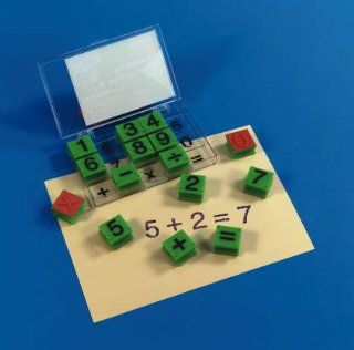 Alphabet and Number Stamps   Numbers and Math Symbols Toys & Games