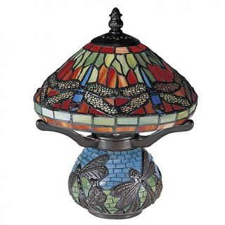 Dale Tiffany Red Dragonfly Accent Lamp