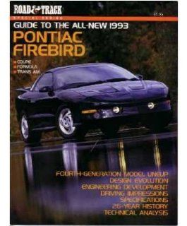 1993 Pontiac Firebird Road & Track Magazine Article Brochure Advertisement Automotive