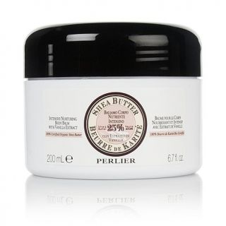 Perlier Shea Butter Intensive Body Balm with Vanilla Extract
