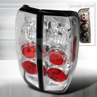 Nissan Frontier 2005 2006 2007 2008 2009 2010 Altezza Tail Lights   Chrome Automotive