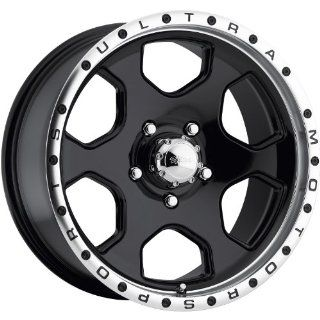 Ultra Rouge 17x8 Black Wheel / Rim 5x5.5 with a 10mm Offset and a 108.00 Hub Bore. Partnumber 175 7885B Automotive