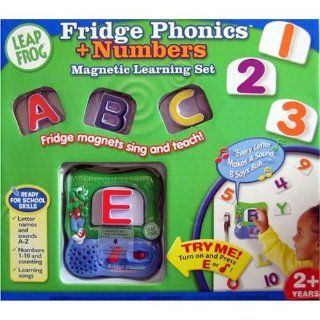 Leapfrog Fridge Phonics Magnetic Letters with Numbers Toys & Games