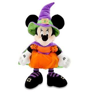 Disney Halloween Minnie Mouse Plush   14 Inch Toys & Games
