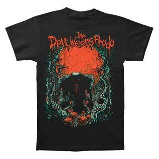Devil Wears Prada Blood Red Moon T shirt Large Youth Clothing