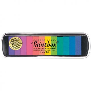 Colorbox Paintbox 2 Pigment Stamp Ink Pad 12 Color