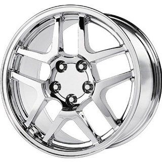 Strada Replicas 105 18 Chrome Wheel / Rim 5x4.75 with a 56mm Offset and a 70.7 Hub Bore. Partnumber 105C 896156 Automotive