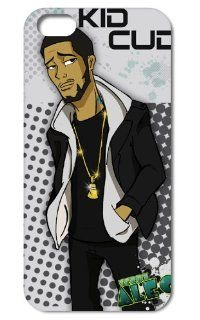 New Cool Kid Cudi Hip hop Rap Star Fashion Seamless Back Cover Case for Iphone 5 5g & 5s  I51p07 Cell Phones & Accessories
