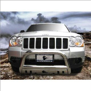 Black Horse Stainless Steel Bull Bar 08 12 Jeep Grand Cherokee Automotive