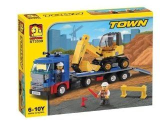 Heavy Equipment Trailer Oxford St3339   Building Blocks Toys & Games
