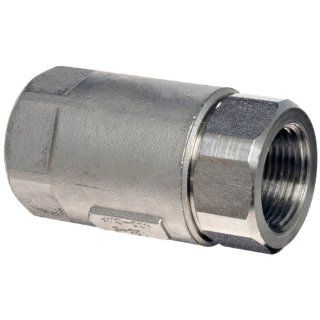 Dixon Stainless Steel 316 Ball Cone Check Valve, NPT Female Industrial Check Valves