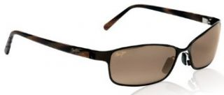 Maui Jim SHORELINE H114 25 sunglasses Glossy Dark Brown with HCL lenses Clothing