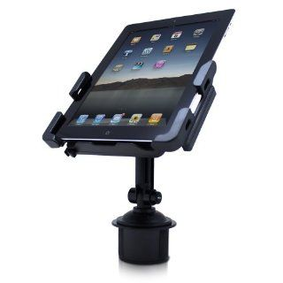 Satechi SCH 121 Cup Holder Mount for Smartphones & Tablets iPad, iPad Mini/Air, Asus Eee Pad Transformer, Motorola Xoom, Samsung Galaxy Tab, Galaxy 10.1, Viewsonic Gtablet, Blackberry Playbook, HTC Flyer, iPhone, BlackBerry, Galaxy S4, S3, S2 Compute