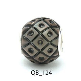 Authentic Galatea Tahitian Black South Sea Pearl Queen Bead QB 124 Jewelry