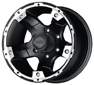 "Black Rock Viper 900 Tungsten and Matte Black Wheel (17x8""/5x127mm) Automotive"
