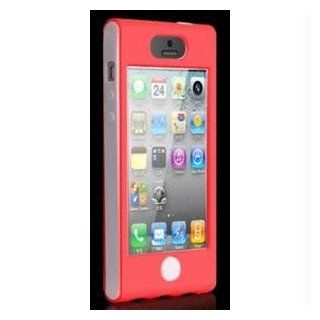 mWorks mCase Apple iPhone 5 Red Slim Shock Cover Case   Retail Packaging   Red Cell Phones & Accessories