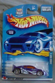 Hot Wheels 2003 Zender Fact 4 #132 PURPLE 164 Scale Toys & Games