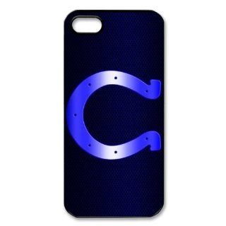 DIYCase Cool NFL Series Indianapolis Colts Unique Design Back Proctive Custom Case Cover for iPhone 5   139731 Cell Phones & Accessories