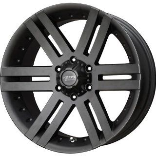 "MB Wheels Vortex Matte Black Wheel with Painted Finish (18x8.5""/6x139.7mm) Automotive"