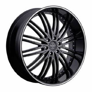 "24"" Wheels Rims Versante Ve231 24x9.5 Matte Black 6 Lug GMC Infiniti Lexus Nissan Toyota SUV Wheels 6x135 6x139.7 Automotive"