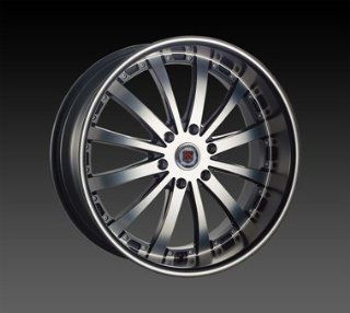 "22"" Wheel Rims Redsport Rsw77b Wheels 22x9.5"" Escalade Tahoe Yukon Silverado Wheels Rims Black Machine 6x139.7 Automotive"